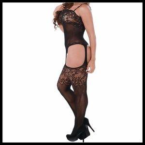 Miss Babydoll Intimates & Sleepwear - ❤️NEW Sexy Lace Garter Bodystocking Lingerie #L025